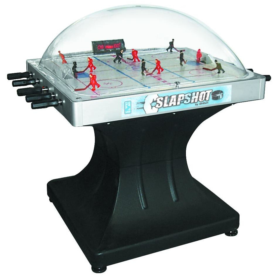 Shelti Slaoshot Dome Hockey Table - titos-table-game