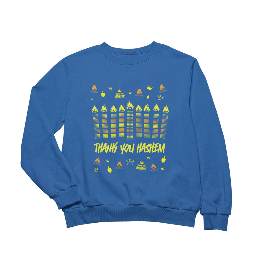 The NOT SO UGLY Chanukah Sweater