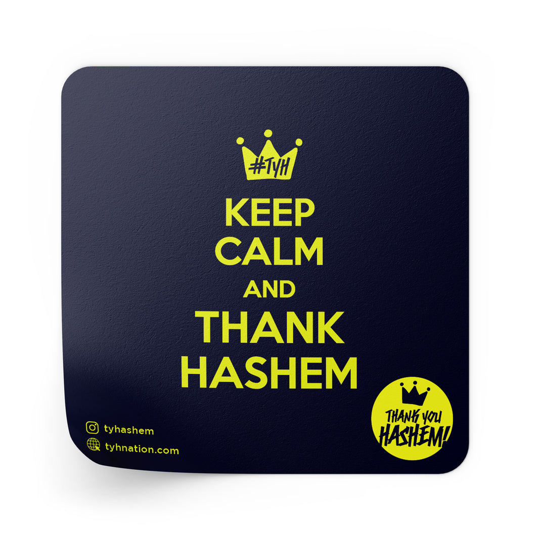 Keep Calm & Thank Hashem Stickers / 5 Pack