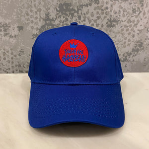 Cap / Youth Blue with Red Logo
