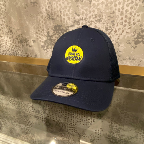 Cap / Youth Navy with Yellow Logo