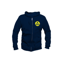 Load image into Gallery viewer, Sweatshirt Youth / Navy with Yellow Logo