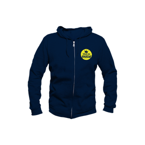 Sweatshirt Youth / Navy with Yellow Logo