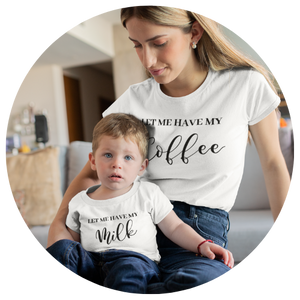"""Let Me Have My Milk"" Child Tee - MamaBuzz Creations"