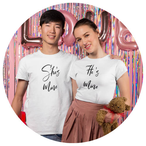 """She's Mine"" Men's Tee - MamaBuzz Creations"