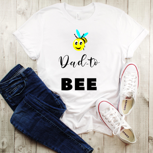 """Dad to Bee"" Men's Tee - MamaBuzz Creations"