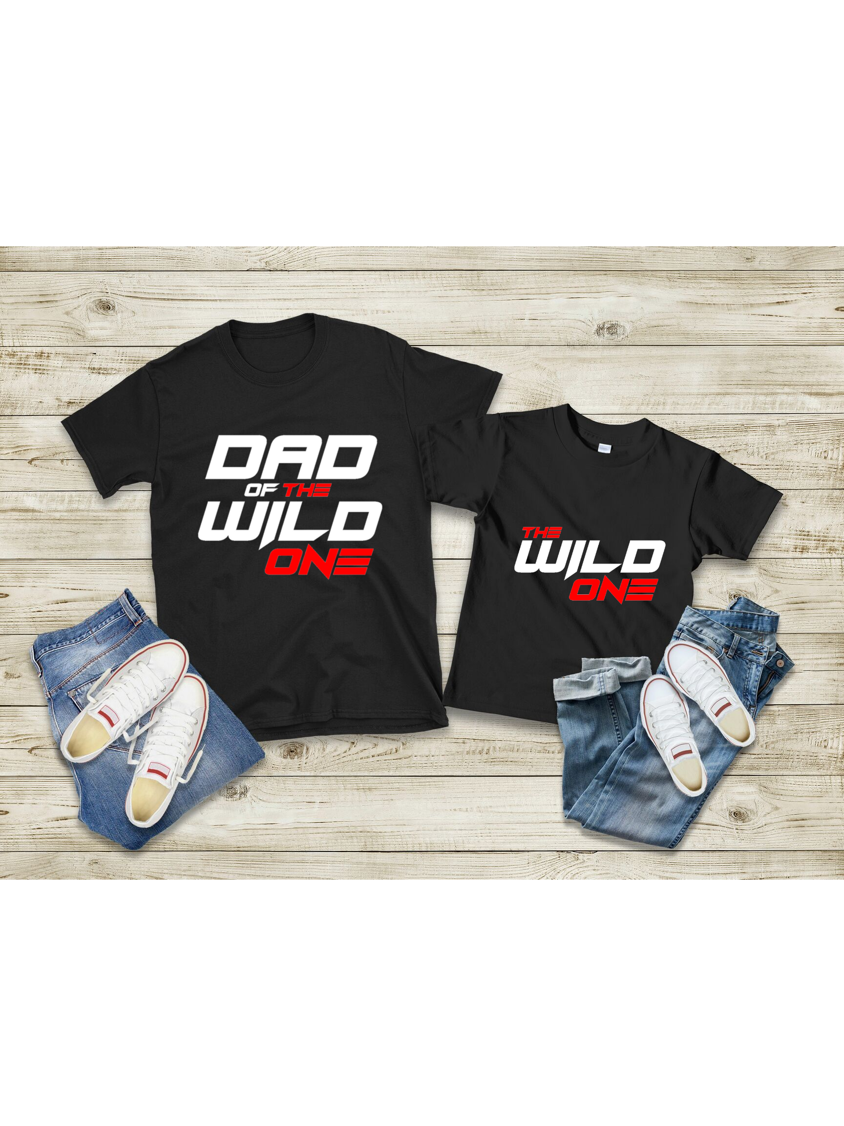 """Dad of the Wild One"" Men's Tee - MamaBuzz Creations"