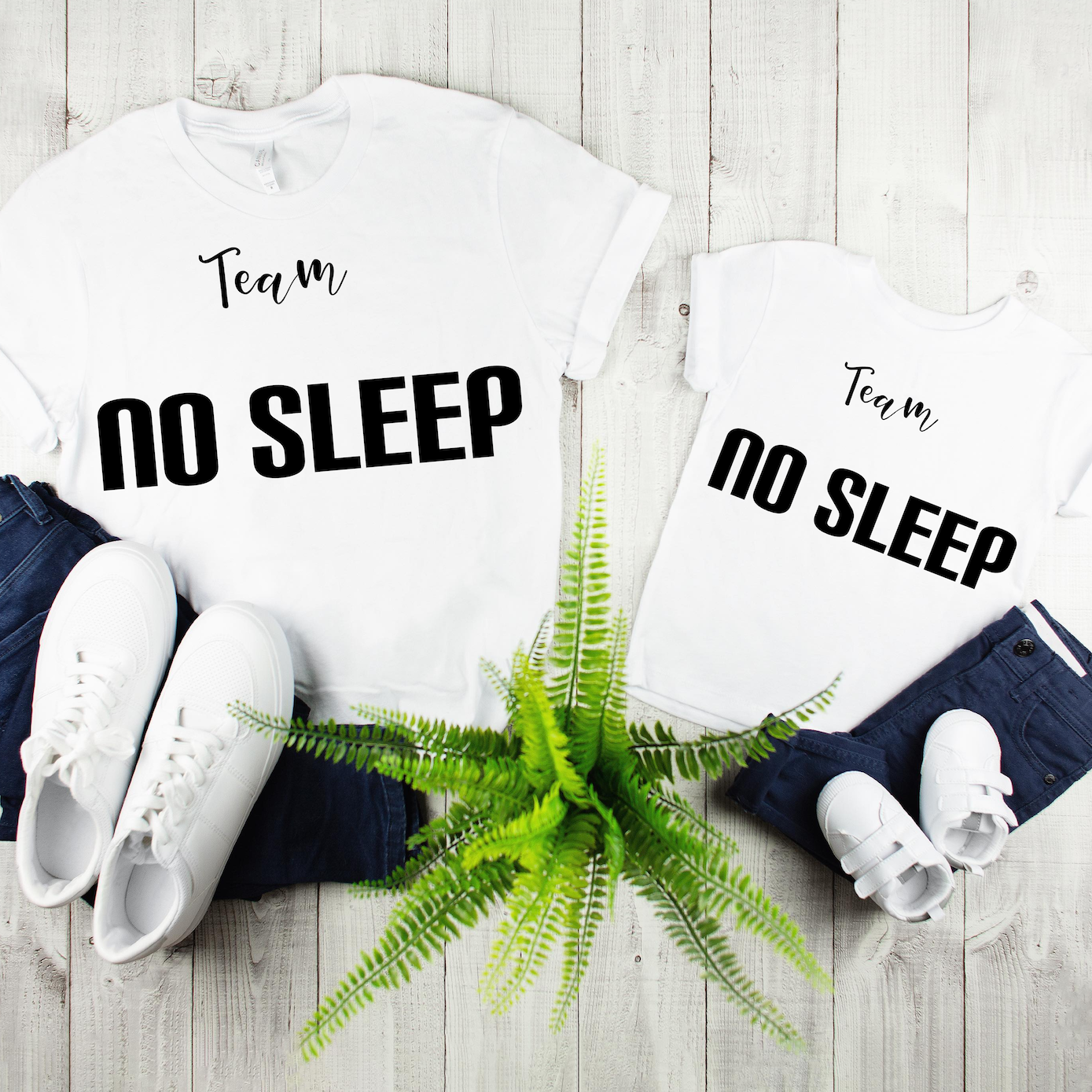 """Team No Sleep"" Child Tee - MamaBuzz Creations"