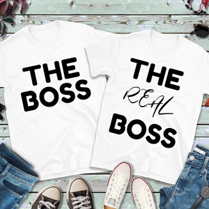 """The Boss"" Men's Tee - MamaBuzz Creations"