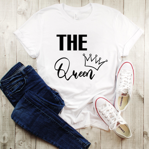 """The Queen"" Ladies Tee - MamaBuzz Creations"