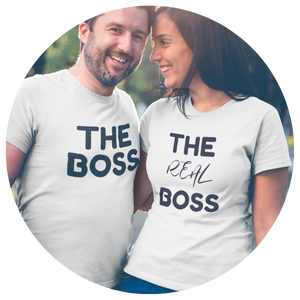 """The Real Boss"" Ladies Tee - MamaBuzz Creations"