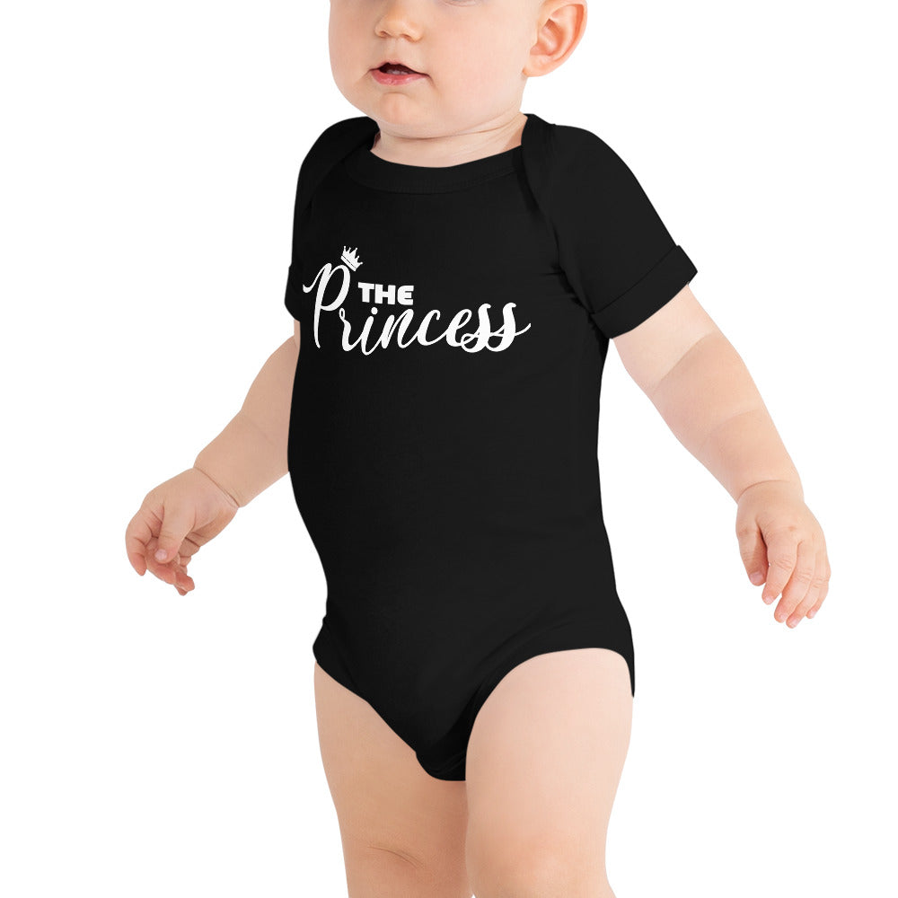 """The Princess"" Baby Onesie - MamaBuzz Creations"