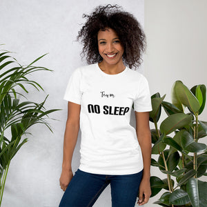 """Team No Sleep"" Ladies Tee - MamaBuzz Creations"