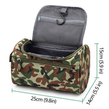 Load image into Gallery viewer, Waterproof Nylon Travel Bag for Cosmetics Makeup Toiletries Organisation and Travelling