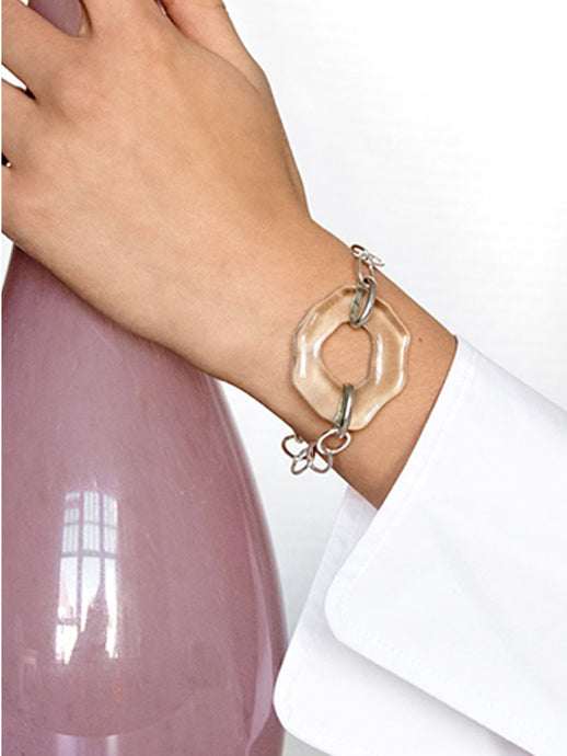 Cled High Tide Oval Chain Bracelet