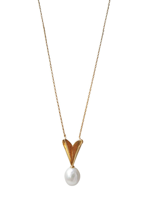 Mirit Weinstock Secret Heart Necklace