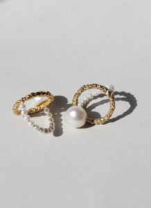 Mirit Weinstock Pearls Ring