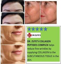 Load image into Gallery viewer, Physician Formulated - DR.ZUTE'S COLLAGEN CAPSULES, Protein, Anti-Aging, Joint pain, Skin wrinkles, Strong Hair,Nails,Muscles,Ligaments,US made,FDA Facility 3000mg120ct