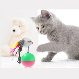 Favorite Fur Mouse Tumbler Toys For Cats Wine Whiskers