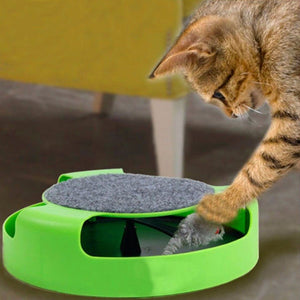 Moving Mouse Interactive Cat Toy Wine Whiskers