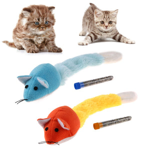 Cotton Plush Cat Chewing Toys Wine Whiskers