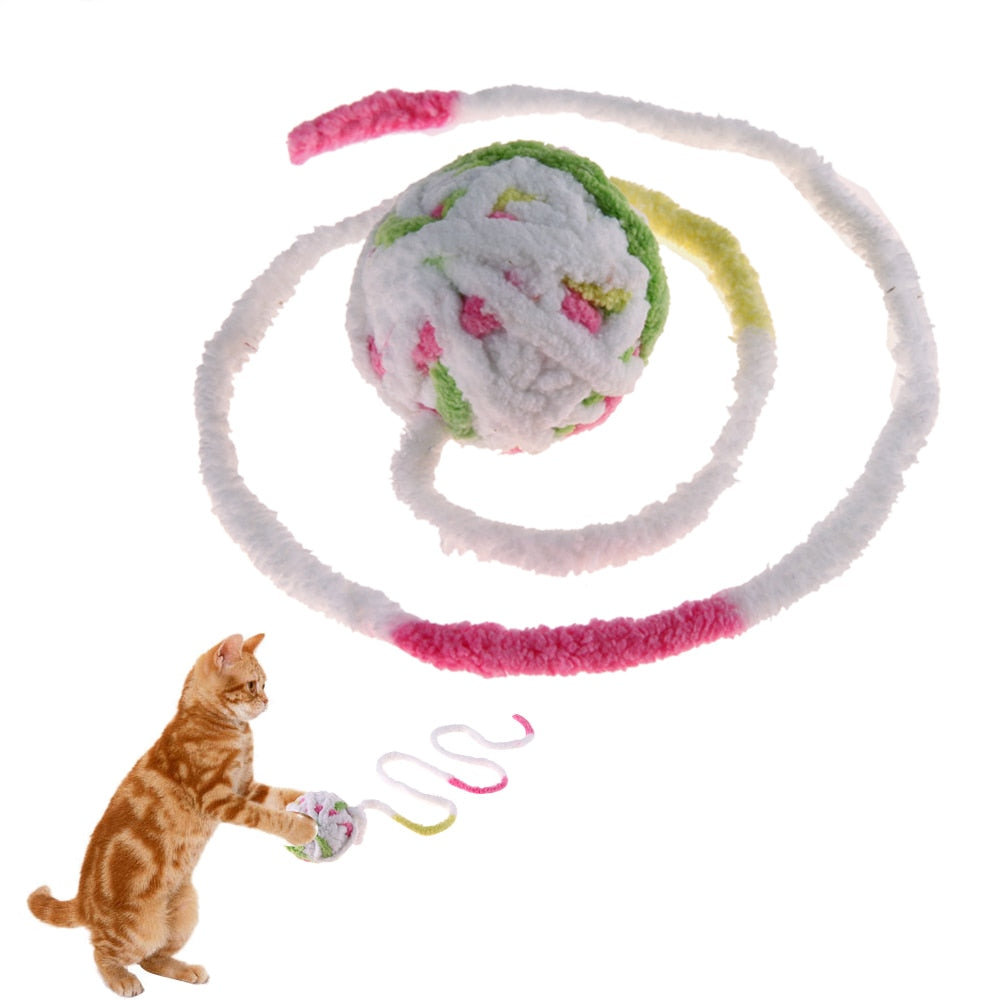 Wool Claws Scratching Ball Cat Toys Wine Whiskers