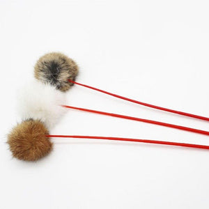 Rabbit Hair Fun Cats Toys Wine Whiskers