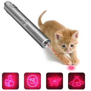 3 in 1 Metal Laser funny Cat Stick Toys Wine Whiskers