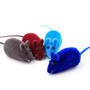 Little Mouse Realistic Sound Toys For Cats Wine Whiskers