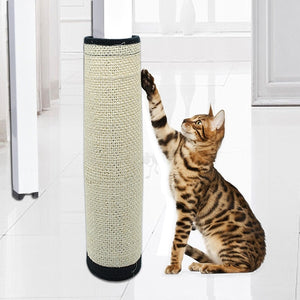 Sisal Hemp Cat Scratching Post Pad Toy Wine Whiskers