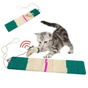 Scratch Board Interactive Kitten Cat Toys Wine Whiskers