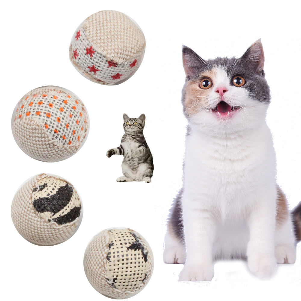 Diameter  Ball Cat Chewing Toy Wine Whiskers