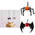 Elastic Plush False Spider Bat Toy For Cat