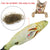 Stuffed Scratch Board Fish Shape Cat Toy Wine Whiskers