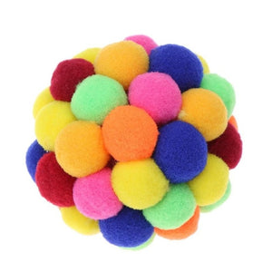 Lovely Handmade Bouncy Ball Cat Toy Wine Whiskers