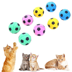 Foam Football Interactive Fumble Fetch Toys Wine Whiskers