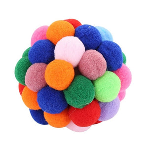 Handmade Bouncy Teaser Ball Catnip Toys Wine Whiskers