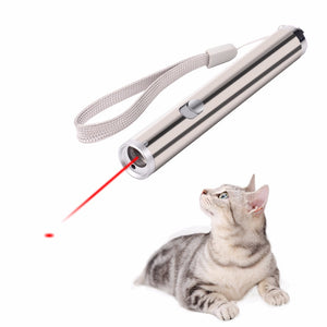 2 in 1 Multi Function Funny Cats Laser Toy Wine Whiskers