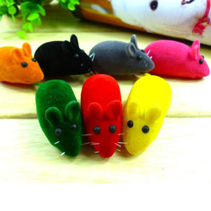 Artificial Leather Mice Animal Cat Toys Wine Whiskers