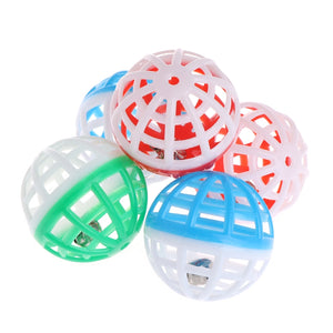 Plastic Interactive Rattle Balls Cat Toy Wine Whiskers