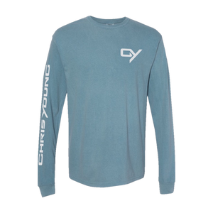 Ice Blue Long Sleeve Tee (2020 Tour Dates)