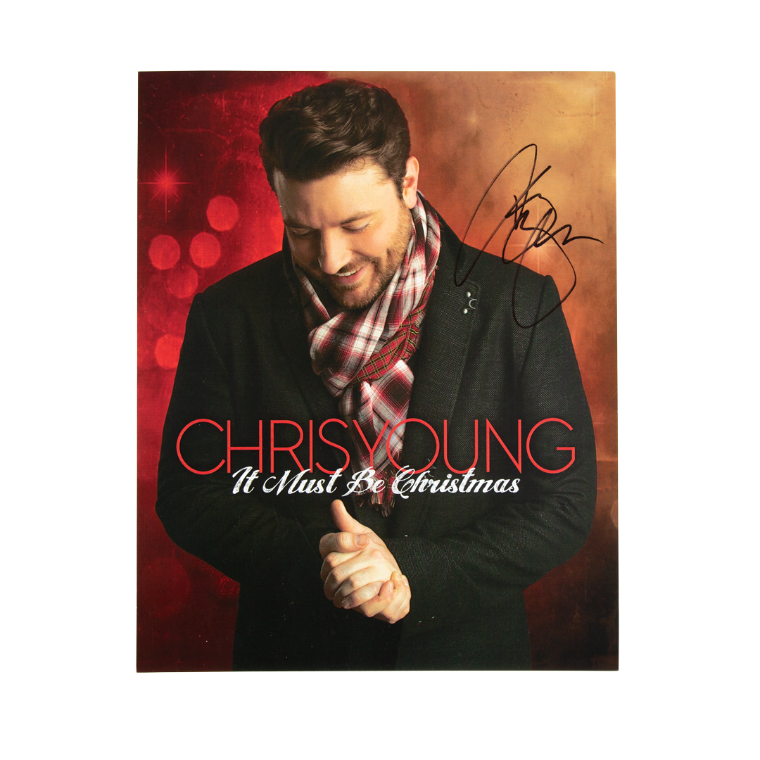 It Must Be Christmas Photo (AUTOGRAPHED)