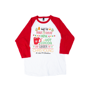 Chris Young Christmas Raglan