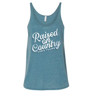 Raised On Country Blue Tank