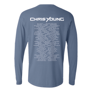 Ice Blue Tour Long Sleeve Tee