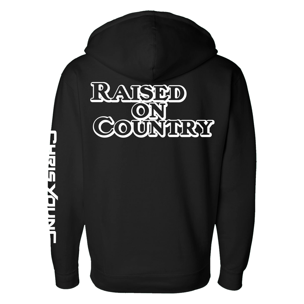 Raised On Country Zip Hoodie
