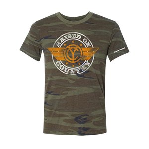 Raised on Country Camo Tee