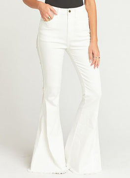 Clear as a Bell White Flares