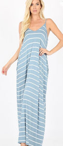 Earning Your Stripes Maxi Dress