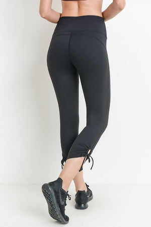 Black Tie Leggings